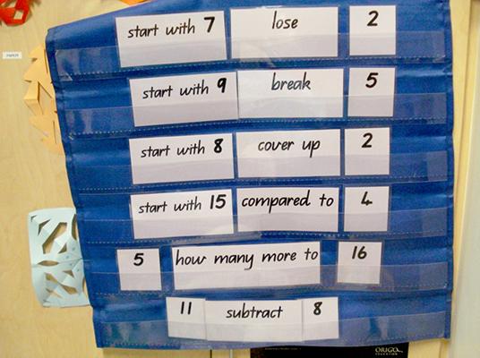 mathematical language precision - stage 3
